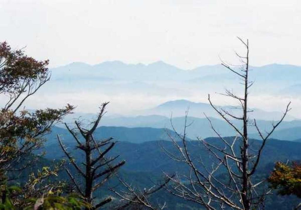 茶臼山山頂展望台