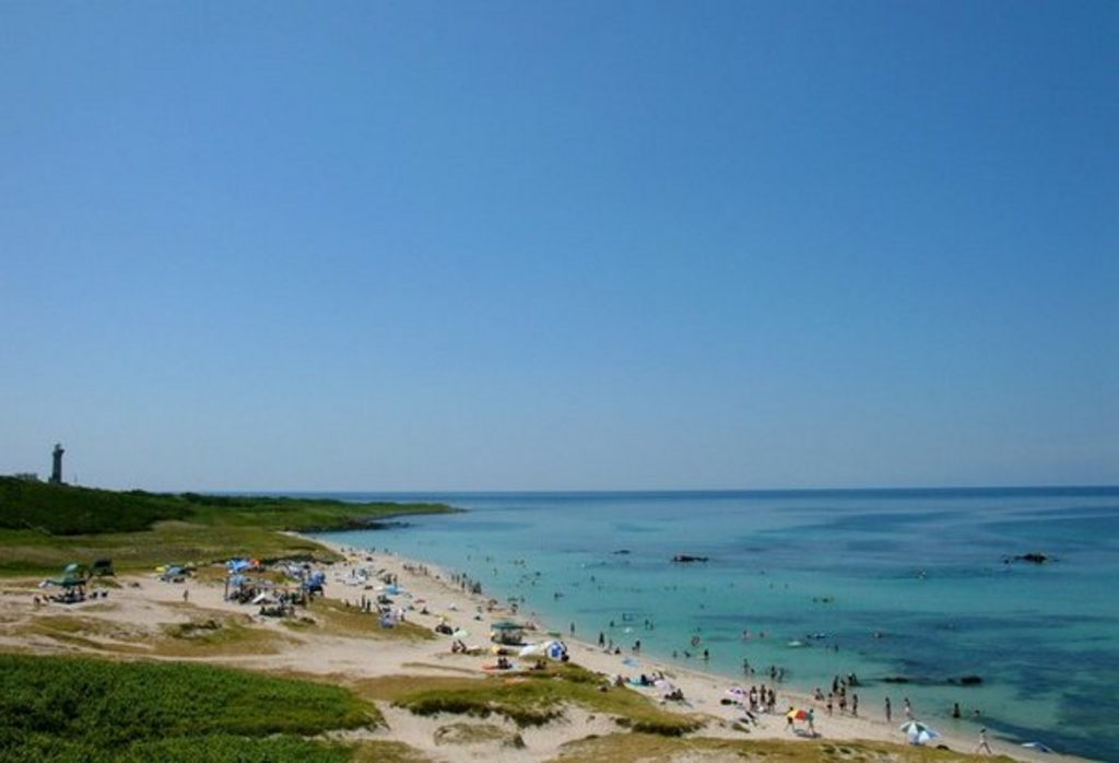 角島大浜海水浴場