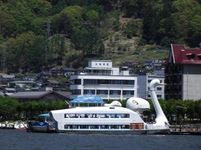 諏訪湖一周遊覧船すわん