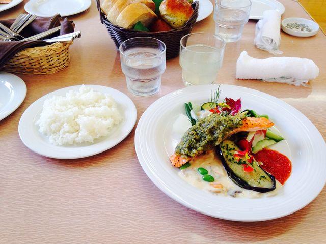 レストラン ヤハラテナのランチ_メディカルハーブガーデン 生活の木 薬香草園