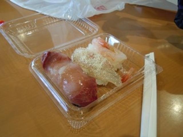 イベントのお寿司_能登食祭市場