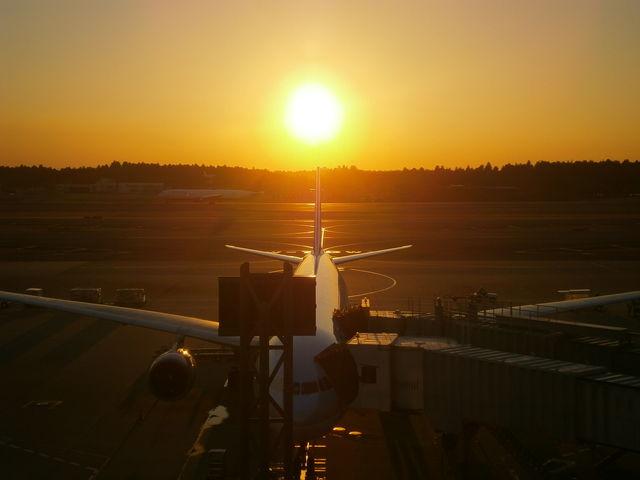 第1ターミナル5階にある展望デッキより_成田国際空港