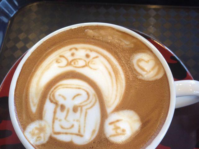 ここにあるコーヒー専門店で。_にぎわい市場 ピアBandai