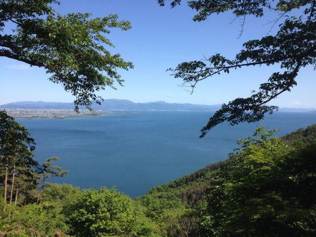展望台から_奥琵琶湖パークウェイ