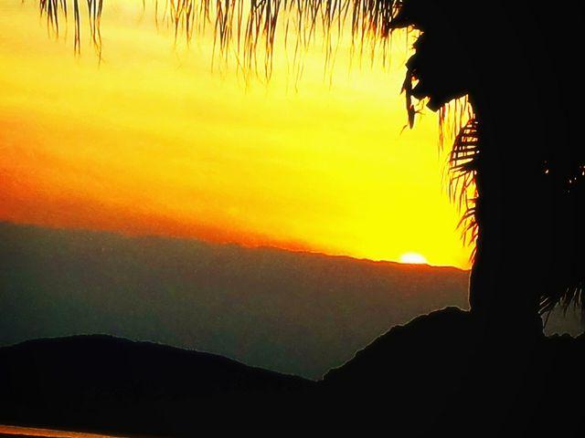 真っ赤に染まる落陽に感動します!\(^o^)/_日南海岸