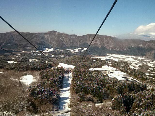 桃源台駅~姥子駅の間1_箱根ロープウェイ