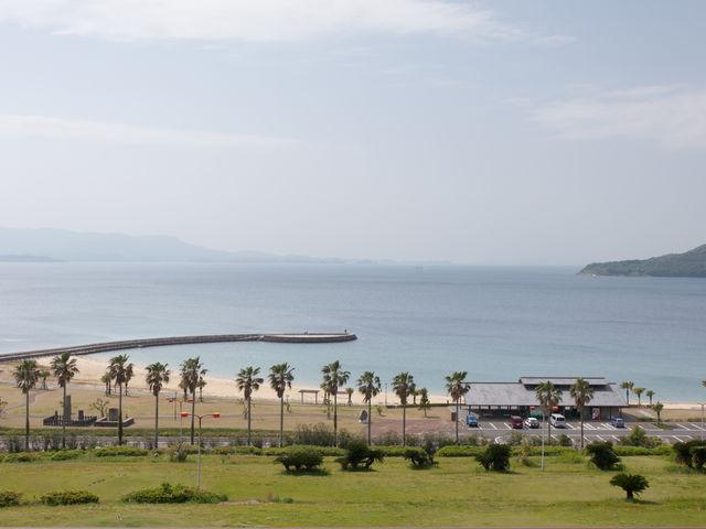 広く明るい_千里ヶ浜海水浴場