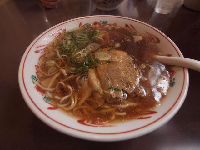 あっさりした味でした。_尾道ラーメン壱番館