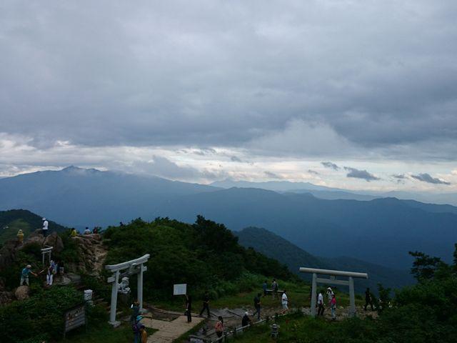 山頂の風景です_谷川岳ロープウェイ