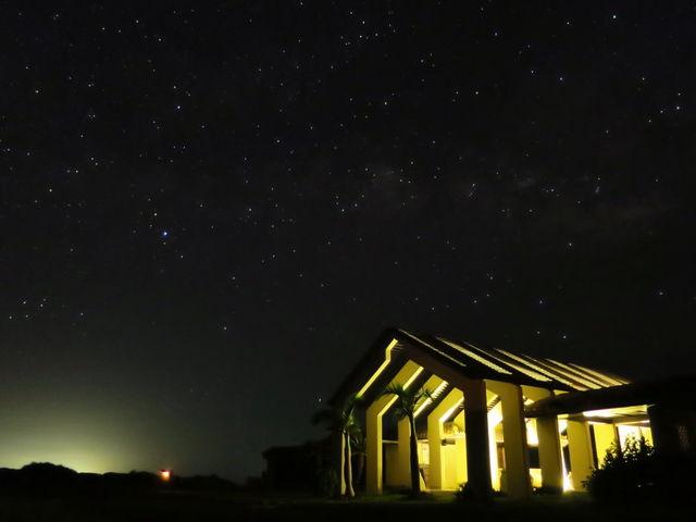 この星空・・・プラネタリウムみたいで感動だった_小浜島