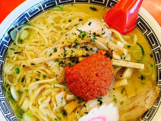 見た目シンプルですが味は最高でした。_龍上海 本店