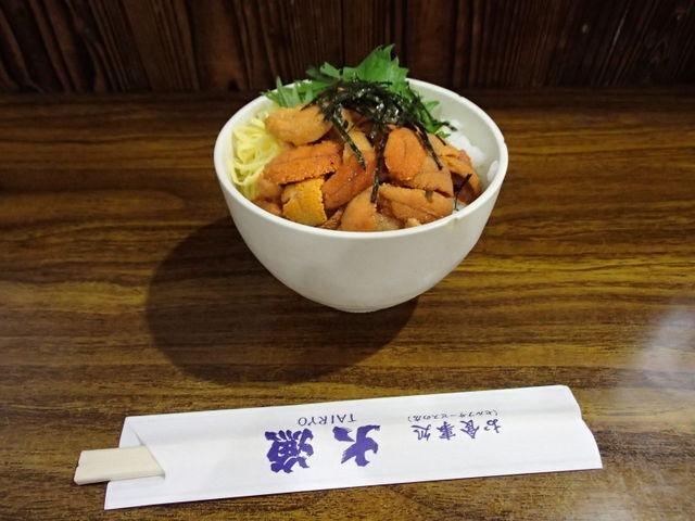 ウニ丼_お食事処 大漁