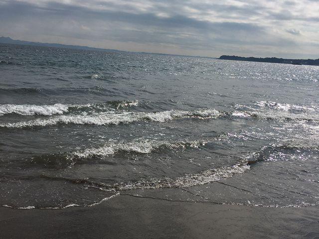 綺麗な海です。_三浦海岸海水浴場