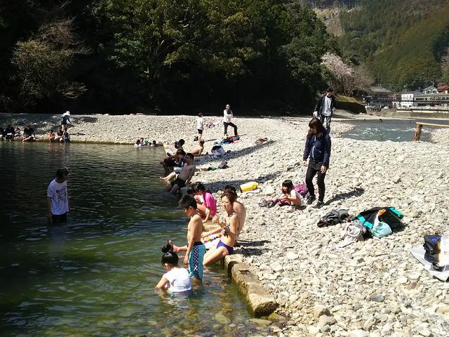 仙人風呂です_川湯温泉