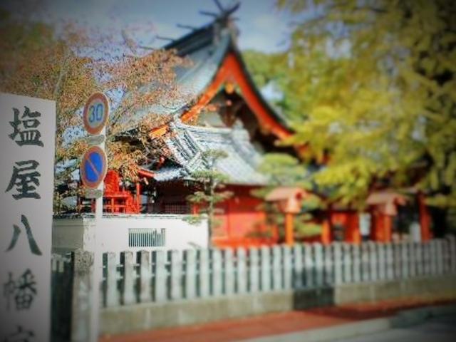 【神が一泊されます】 白ゆき・・のような・・・・お祭りも いいと思いますっ!_八代神社
