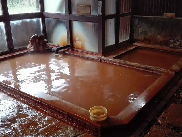 鄙びた感じも良い_小赤沢温泉楽養館
