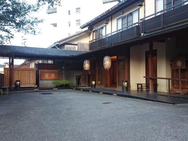 風情ある玄関です。_草津温泉 望雲