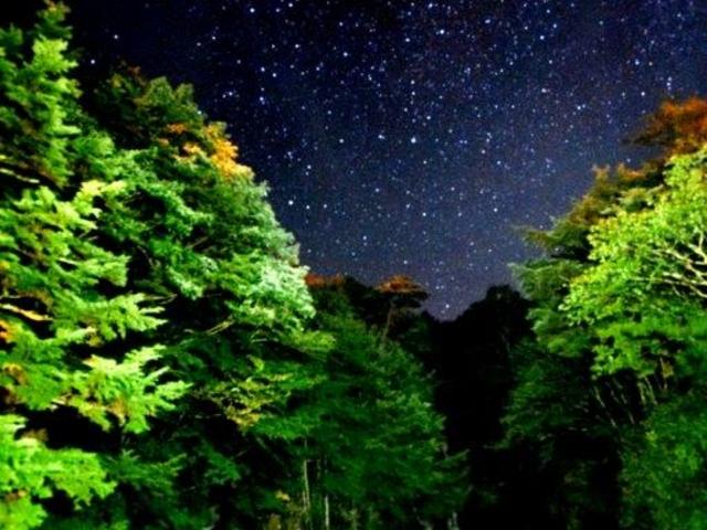 竜頭ノ滝は銀河の入り口_竜頭ノ滝