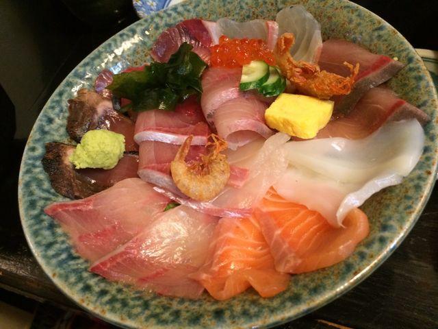 海鮮丼_海鮮いづつ