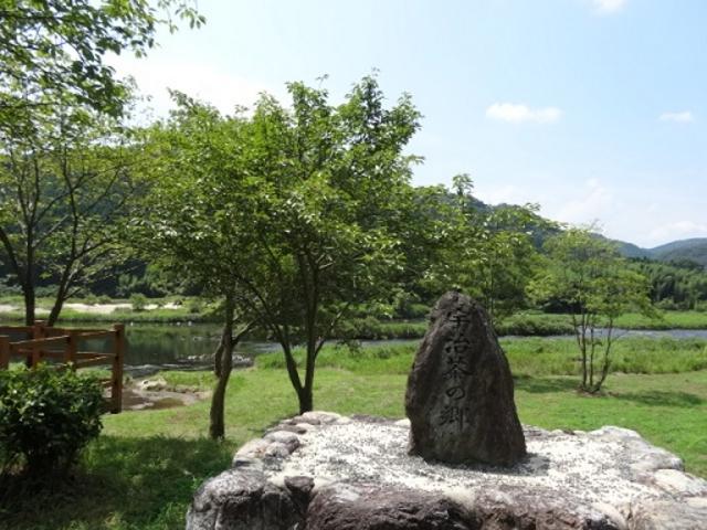 裏には木津川が流れています_南山城村農林産物直売所