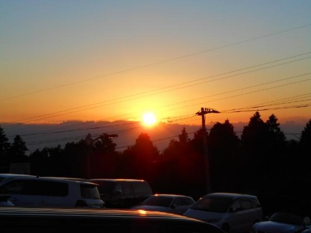 大観山からの初日の出_大観山