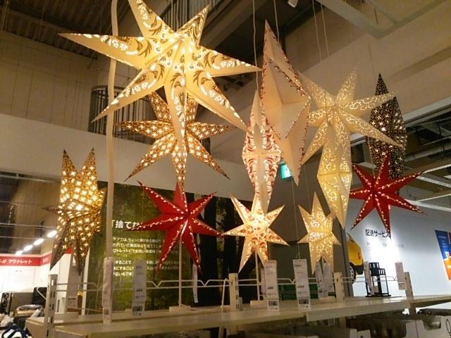 クリスマスのライトアップ_IKEA ポートアイランド