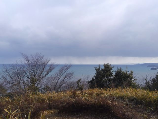 頂上付近からの眺め_音無山