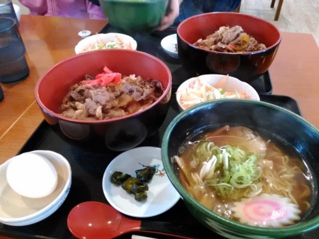 飛騨牛牛丼と半ラーメンセット_食工房 匠