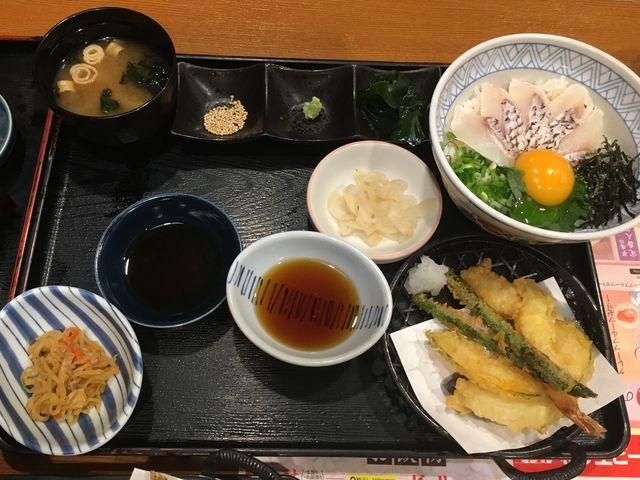 「鯛めし丼膳」(2/3)_夢庵 秩父駅前店