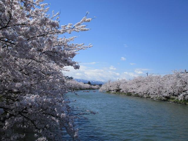お堀の眺め③_弘前公園