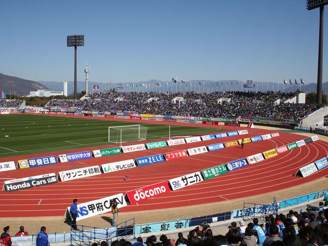 かなり広くて過ごしやすい場所です。_小瀬スポーツ公園