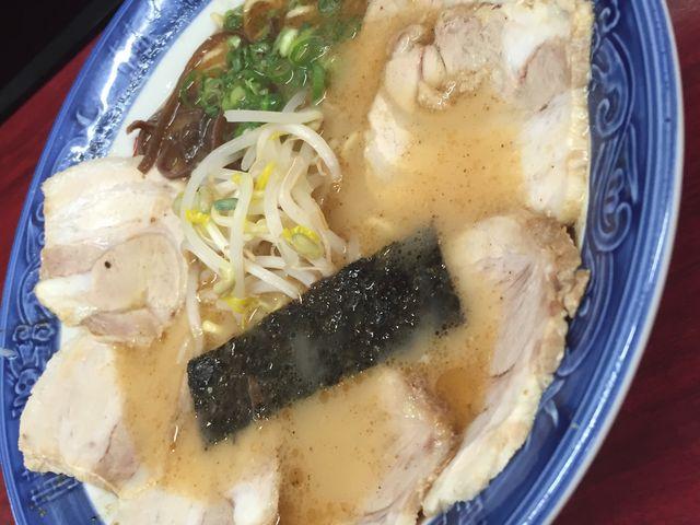 チャーシューラーメン800円。_大黒ラーメン