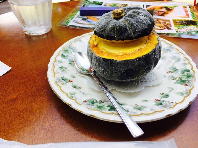 かぼちゃのアイス_エルツおもちゃ博物館・軽井沢(ムーゼの森)