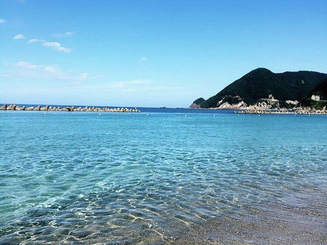 綺麗な海_竹野海岸