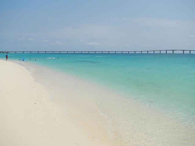 天国のよう_前浜ビーチ