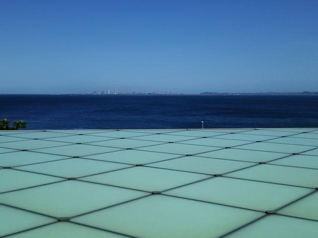 2階からの風景です_横須賀美術館