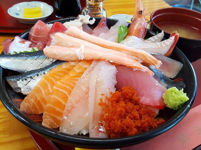 魚介、てんこ盛り_鯛喜