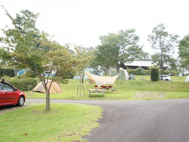 キャンプもできる!_大分農業文化公園