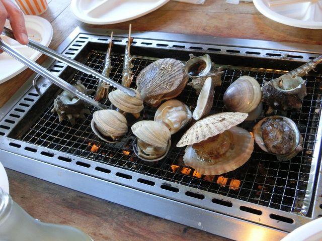 海鮮バーベキュー_海鮮寿司 とれとれ市場