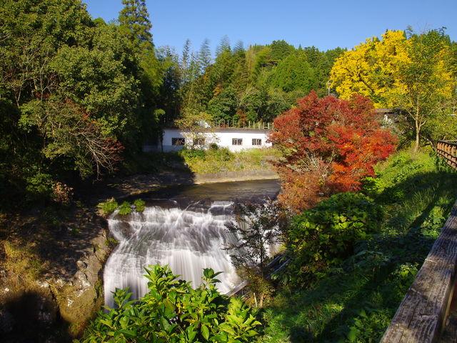 大イチョウから鍋釜滝を通り、下城の滝に通じる遊歩道。_下城の大イチョウ
