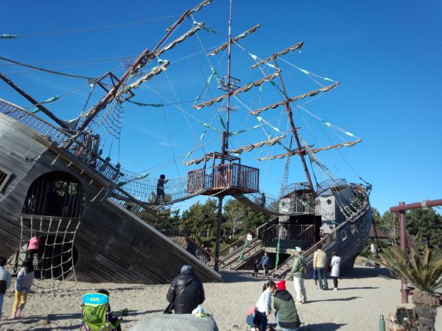 海賊船です_広野海岸公園