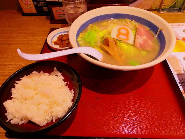 塩ラーメン_8番らーめん 福井駅店