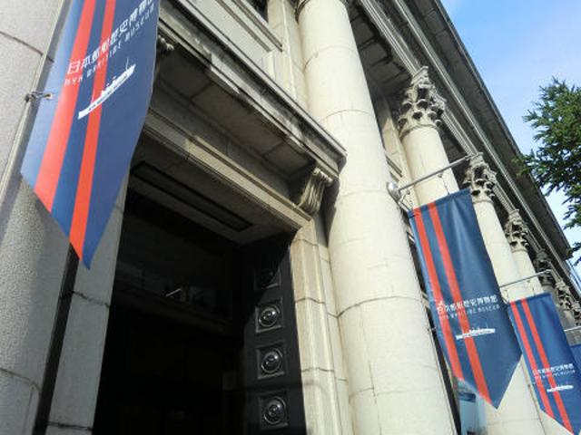 重厚な外観です。_日本郵船歴史博物館