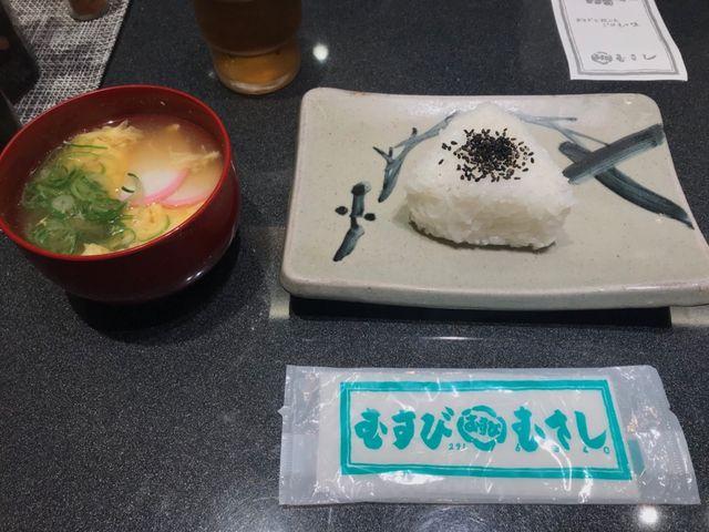 おいしい_むすび むさし 新幹線店