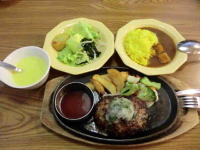 スープ、サラダ、カレーバイキング付き!_ビッグボーイ姫路岡田店