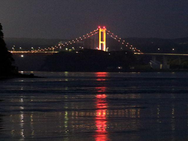 夜景の平戸大橋_平戸大橋