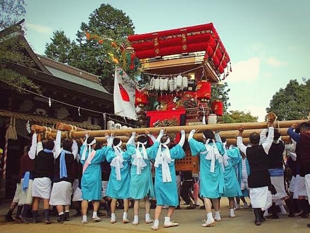 大きな御神輿_住吉神社