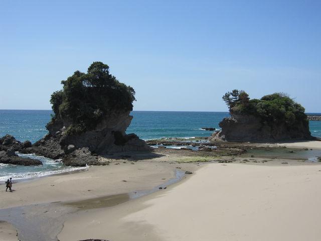 人形岩_西方海岸