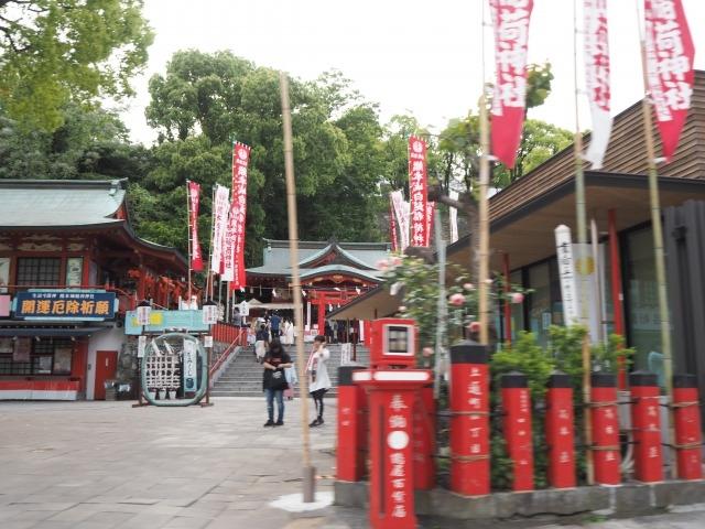 境内風景_熊本城稲荷神社