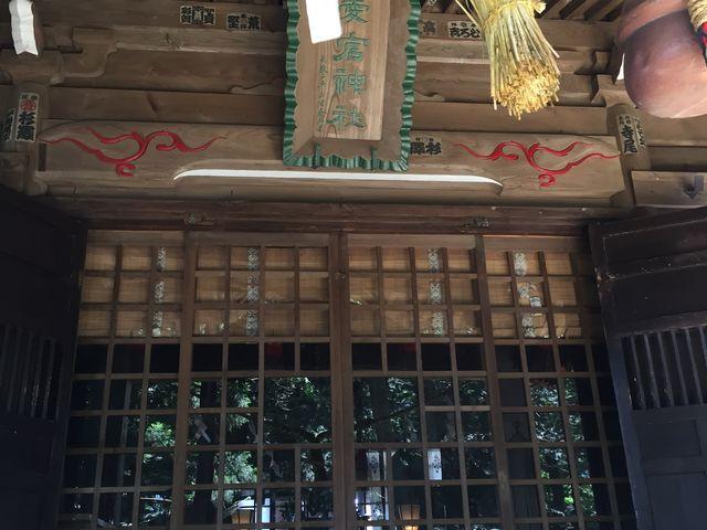 拝殿です_愛宕神社